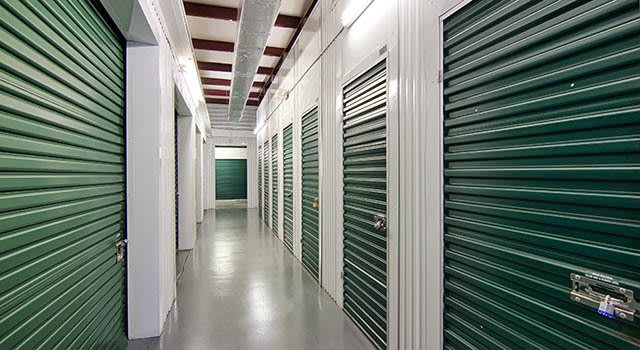 Climate controlled units at Metro Self Storage in Mound, MN