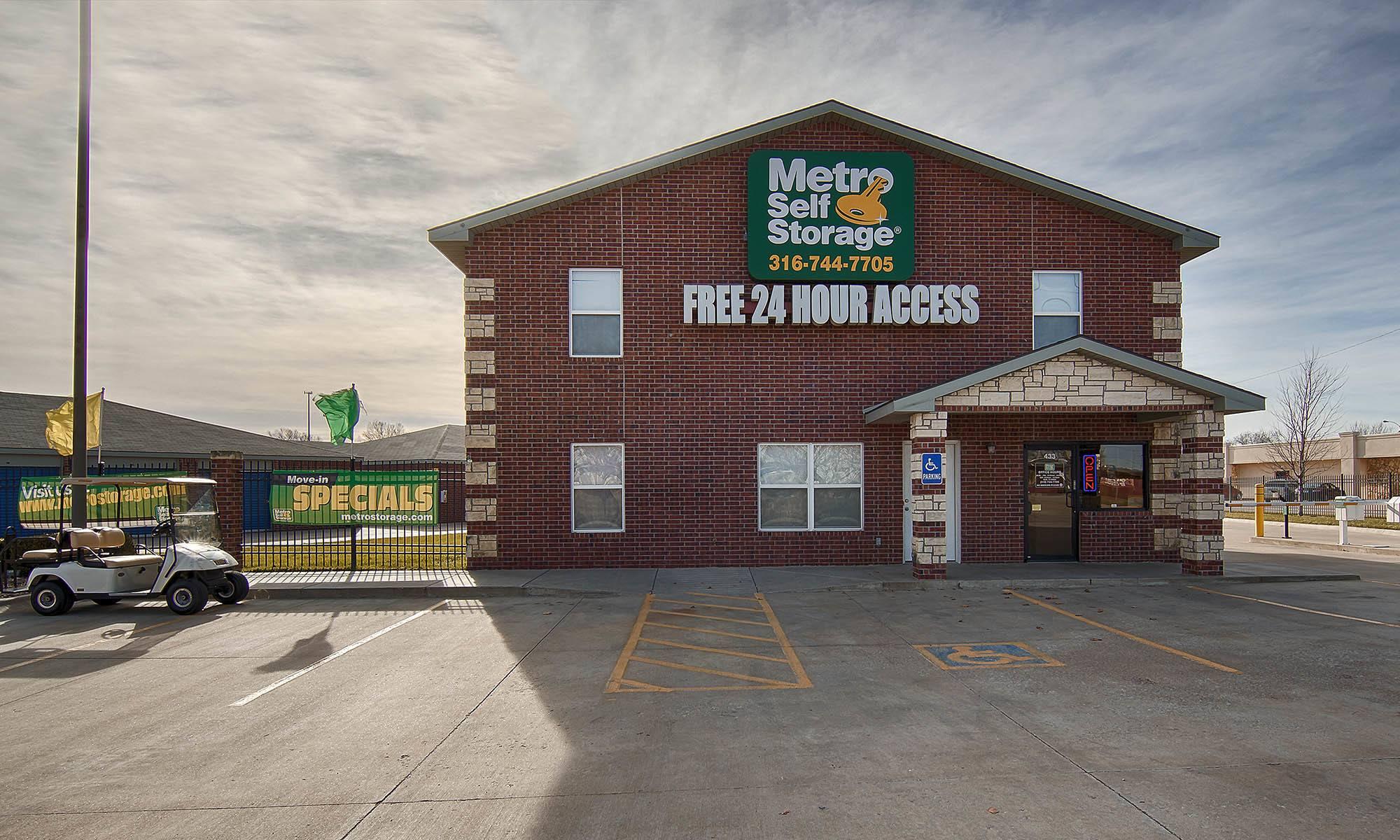 Metro Self Storage in Park City, KS