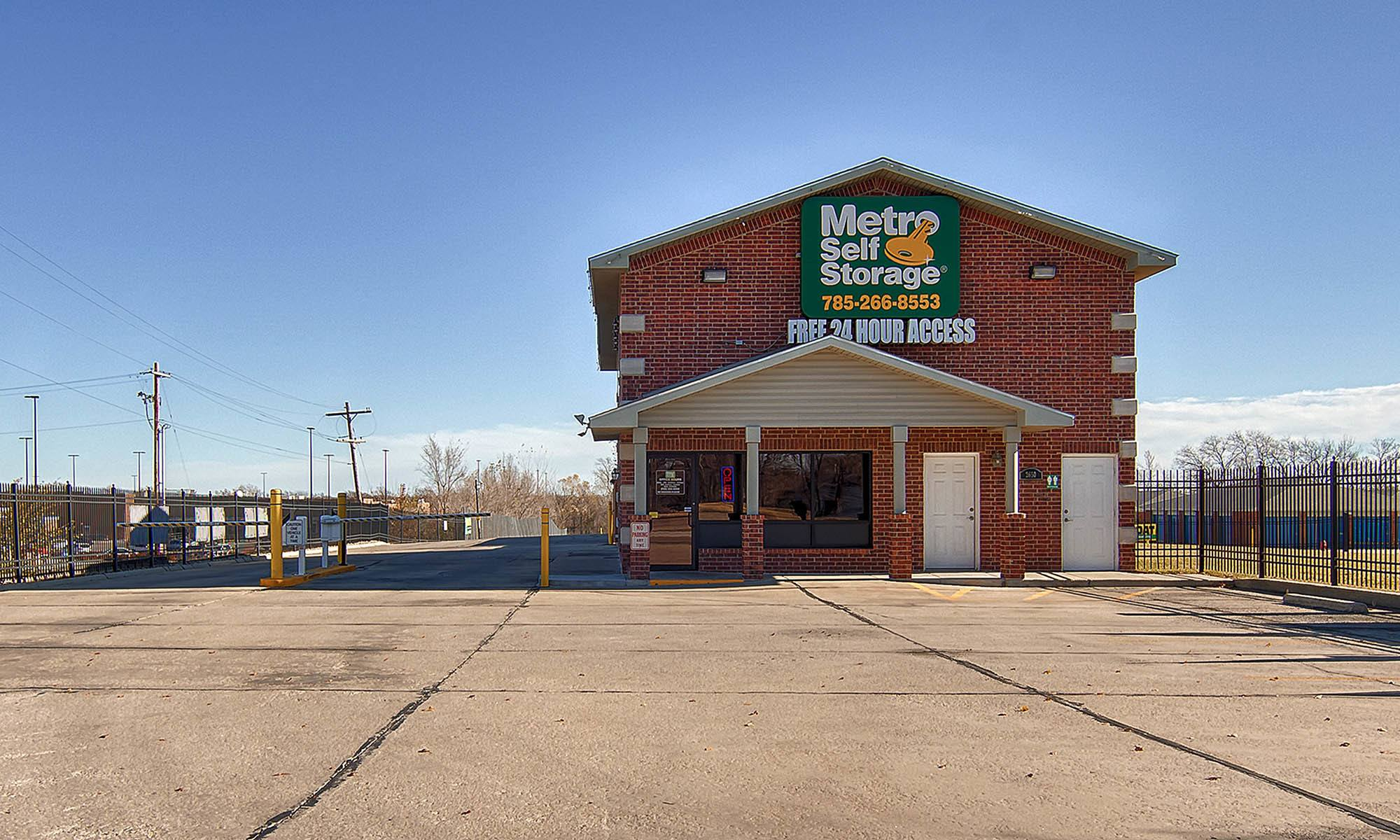 Metro Self Storage in Topeka, KS