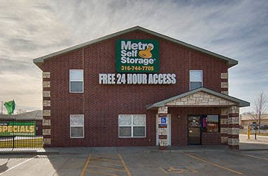 Metro Self Storage Wichita Park City Nearby
