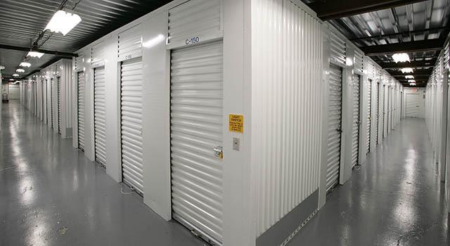 Climate controlled units at Metro Self Storage in West Haven, CT