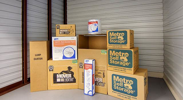 Climate controlled units at Metro Self Storage in Lithia Springs, GA