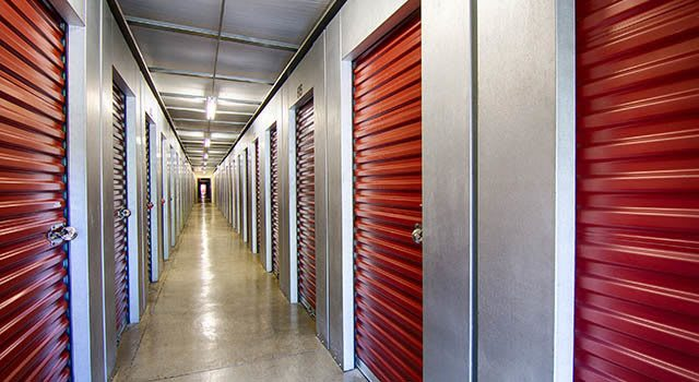 Climate controlled units at Metro Self Storage in Lithonia, GA