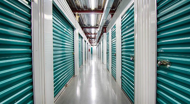 Climate controlled units at Metro Self Storage in Roswell, GA