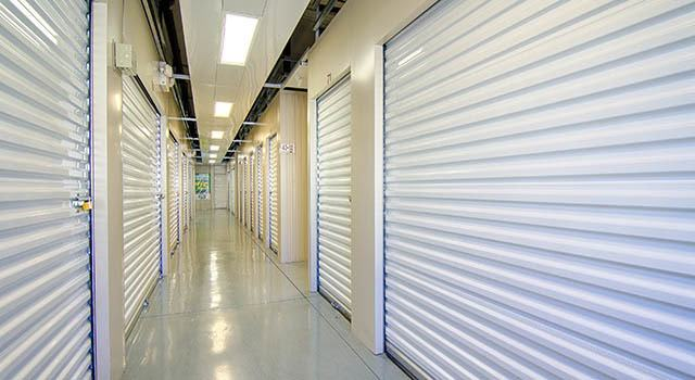 Climate controlled units at Metro Self Storage in Rex, GA