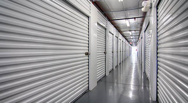 Climate controlled units at Metro Self Storage in Stockbridge, GA