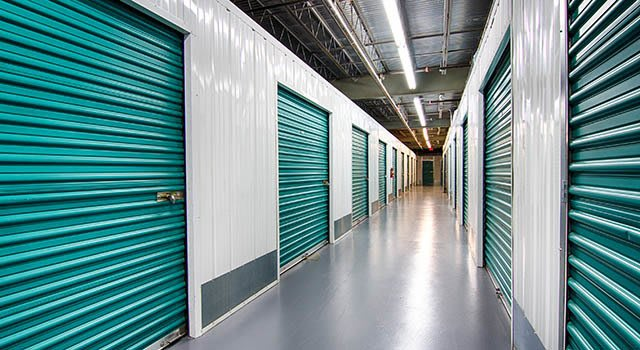 Climate controlled units at Metro Self Storage in Sandy Springs, GA