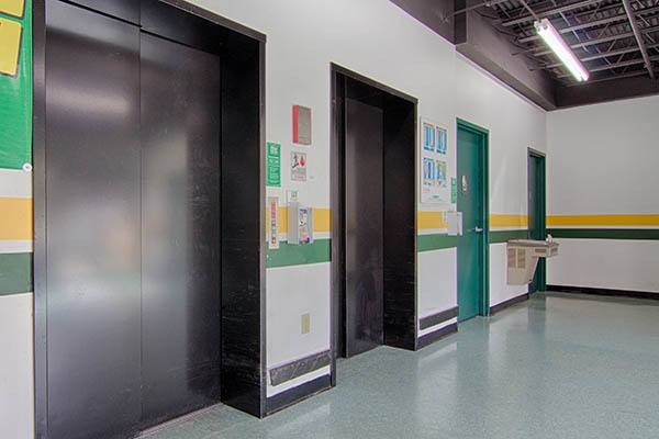 Metro Self Storage SS elevators