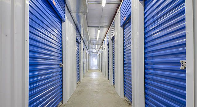Climate controlled units at Metro Self Storage in Warminster, PA