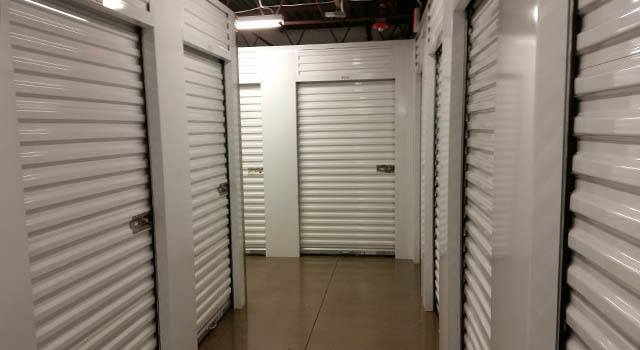 Climate controlled units at Metro Self Storage in Northbrook, IL