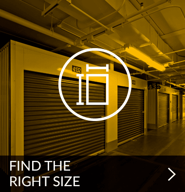 Find the size storage unit you need | Metro Self Storage