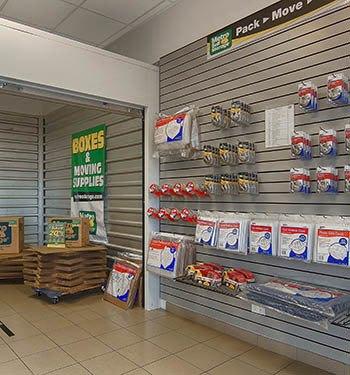 Packing supplies at Metro Self Storage in Mettawa, Illinois