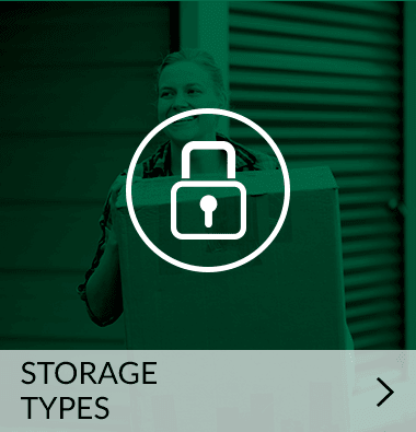 Types of storage offered | Metro Self Storage