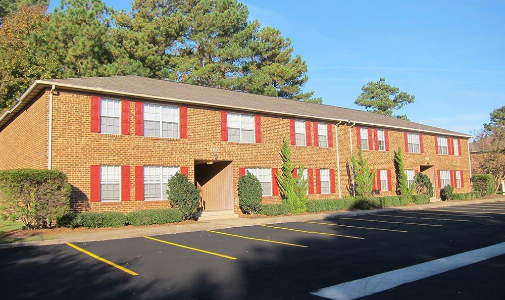 parking at Laurel Court Apartments in Virginia Beach, VA