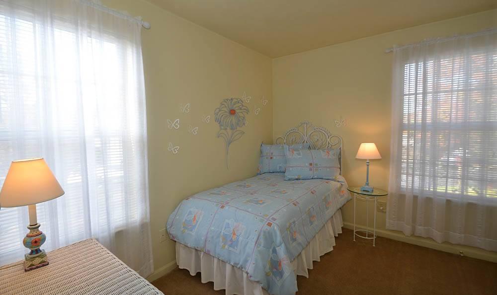 first bedroom at Piper's Landing Apartments in Virginia Beach, VA
