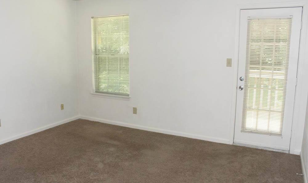 bedroom at Meadowridge Apartments in Franklin, VA