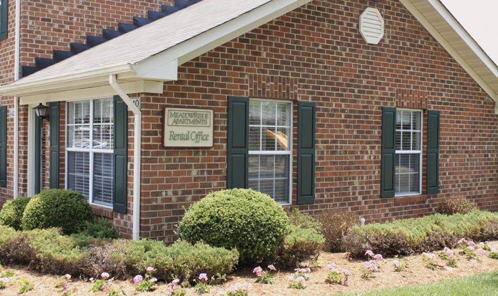 leasing office at Meadowridge Apartments in Franklin, VA