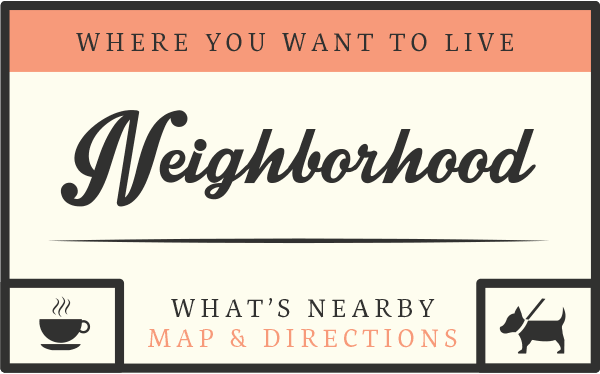The neighborhood features around Meadowridge Apartments