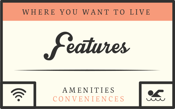 The amenities of Biltmore Commons Apartments