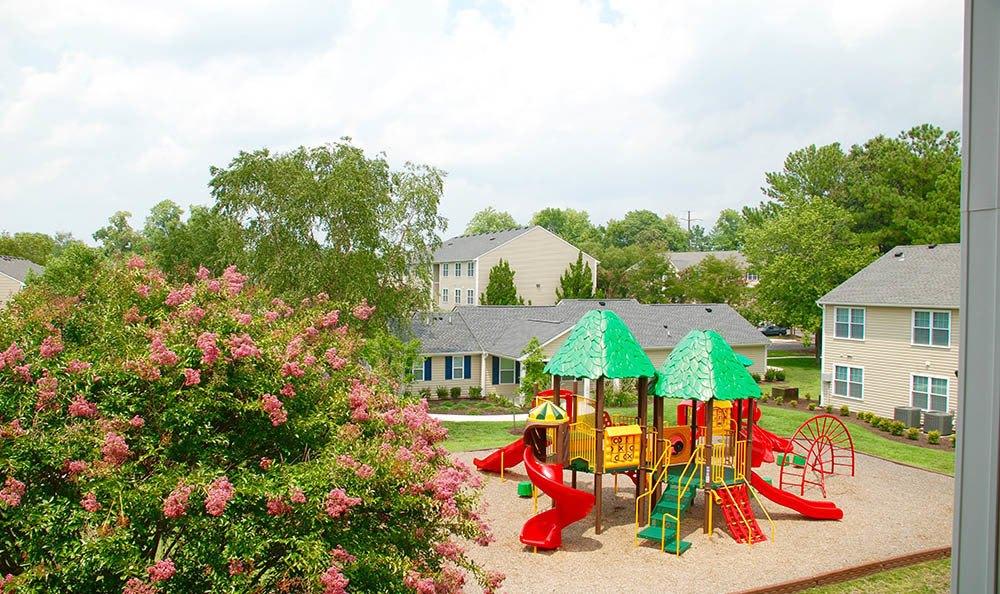 playground at Arbor Glen Apartments in Chesapeake, VA