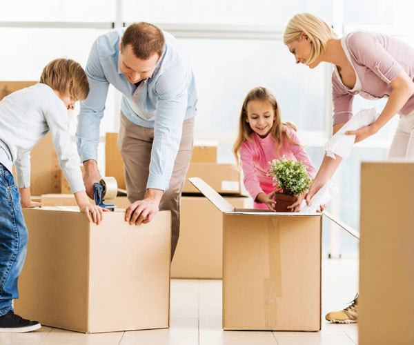 Our self storage makes moving easier on you and your family