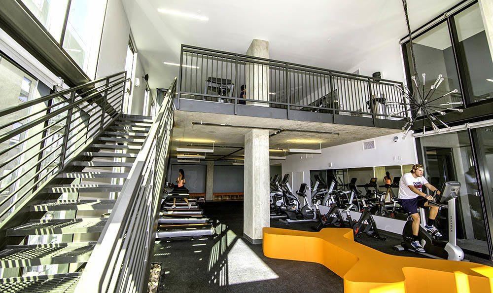 Fitness Center At Tucson Apartments