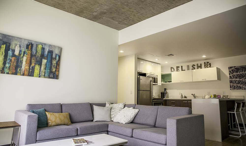 Tucson Apartments Open Living Room And Kitchen