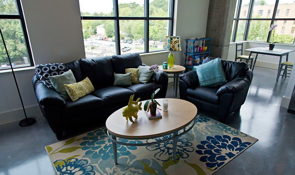 Living Space At Shortbread Lofts