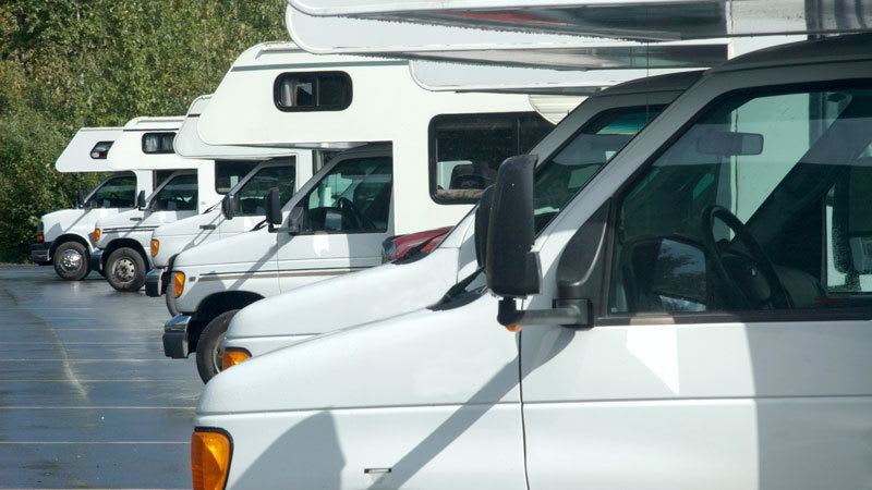 Self-storage facility in Portsmouth features RV and boat storage