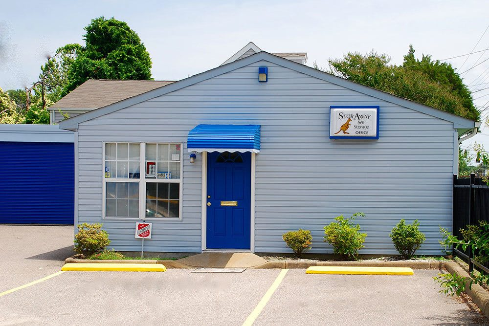 The office at our self-storage facility in Portsmouth