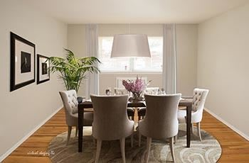 dining room, apartments, Springfield, NJ