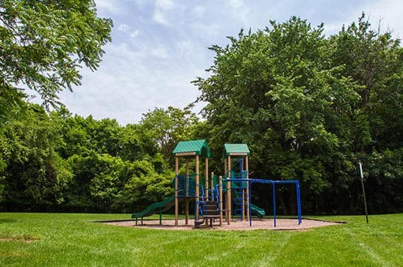 Douglass Gardens playground in Somerset, NJ