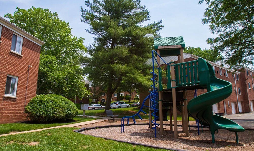 Orchard Gardens Apartments Playground in Highland Park, NJ