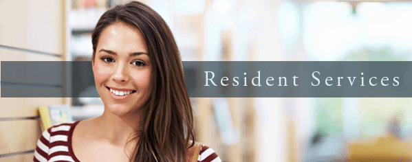 Resident services at Orchard Gardens Apartments
