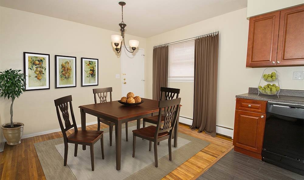 Douglas Gardens Dining Area in Douglass Gardens Apartments, NJ