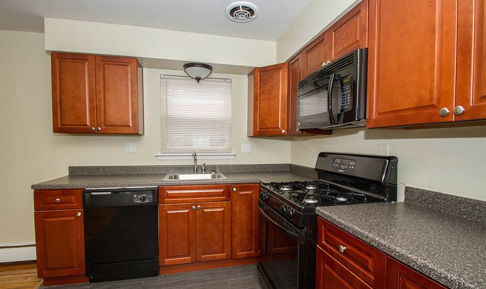 Douglas Gardens Kitchen in Douglass Gardens Apartments, NJ