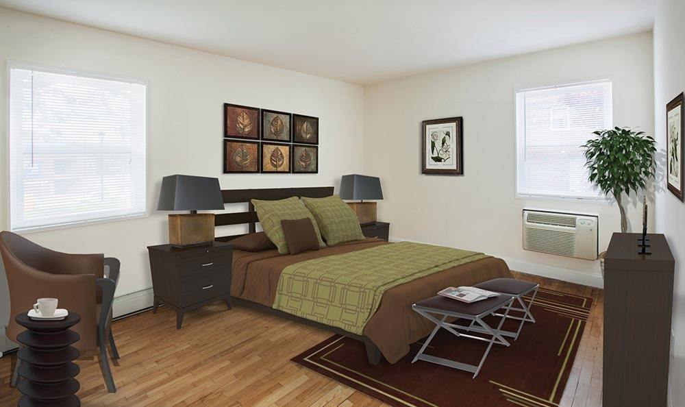 Bedroom at Wayne Village in Wayne