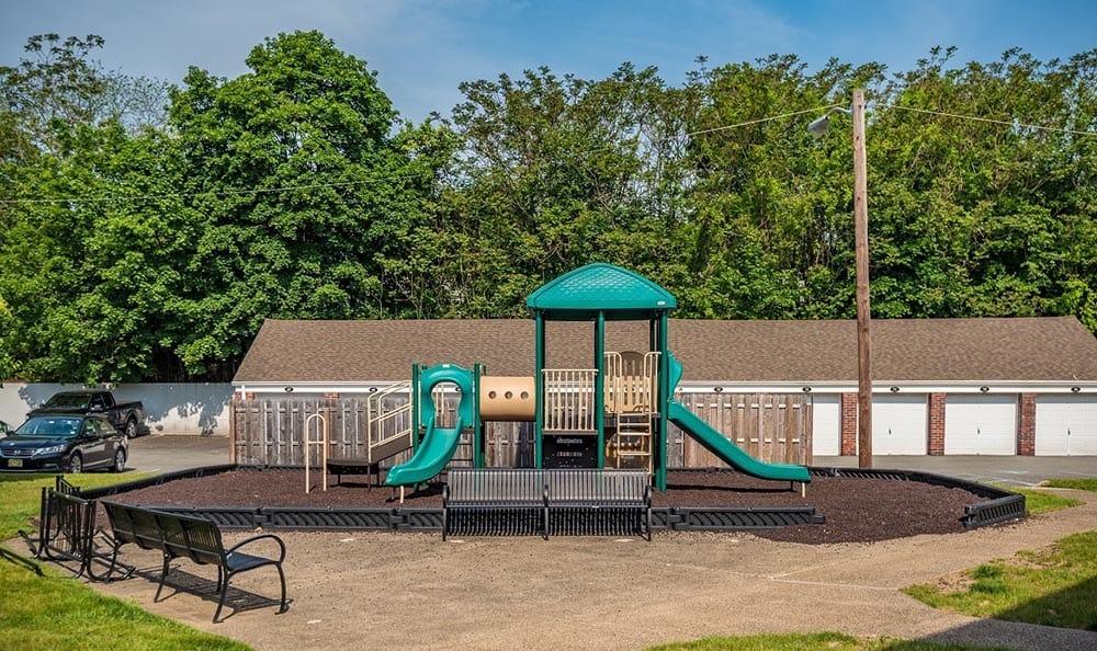Playground at Wayne Village in Wayne