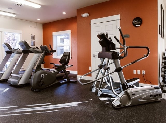Fitness Center at our Missoula Apartments