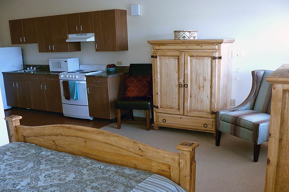 luxury kitchenette at Moran Vista in WA