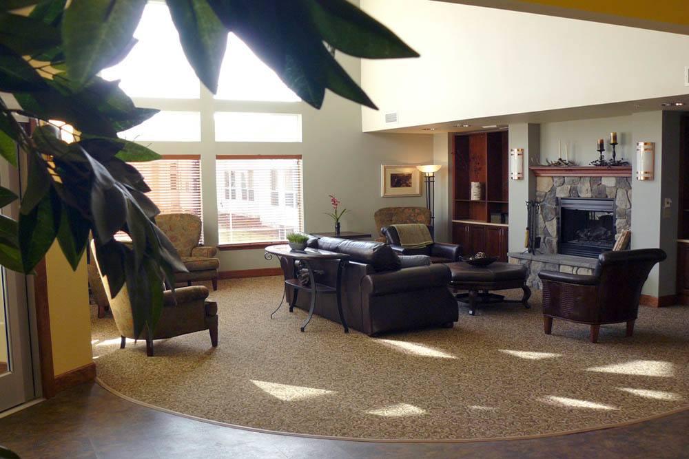 Lobby at Moran Vista in Spokane