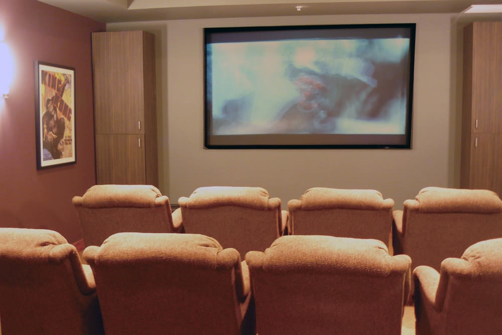 movie theater in Spokane at Moran Vista