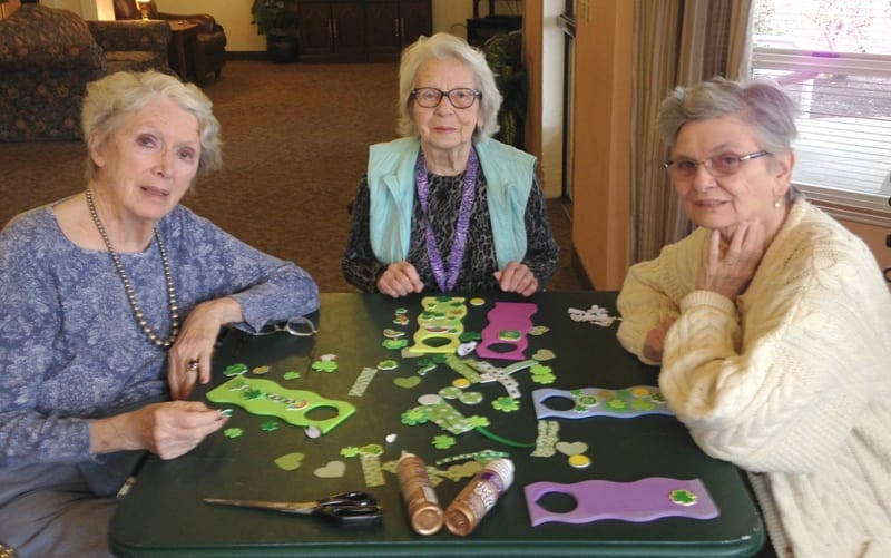 St. Patrick's Day crafts for seniors