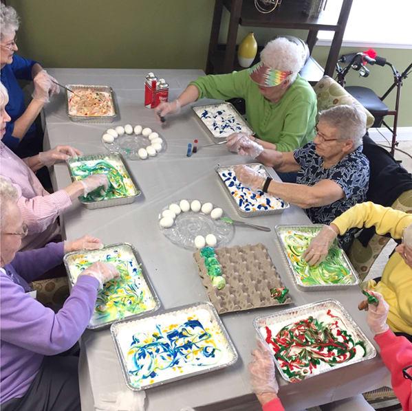 Easter for seniors at Solvang