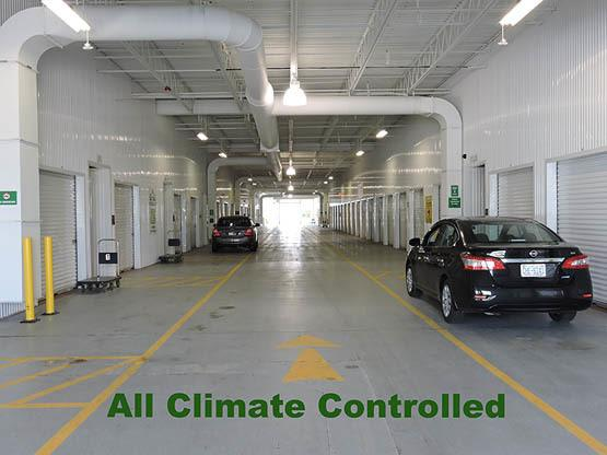 Climate Controlled units at Global Self Storage in Rochester, NY