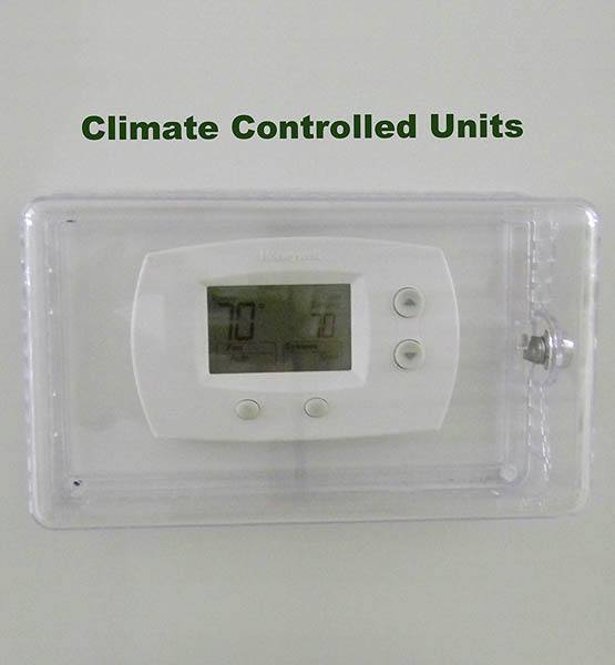 Climate Controlled units at Global Self Storage in Sadsburyville, PA