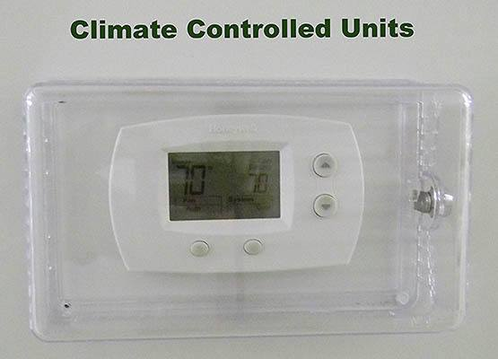 View our climate controlled units at Global Self Storage