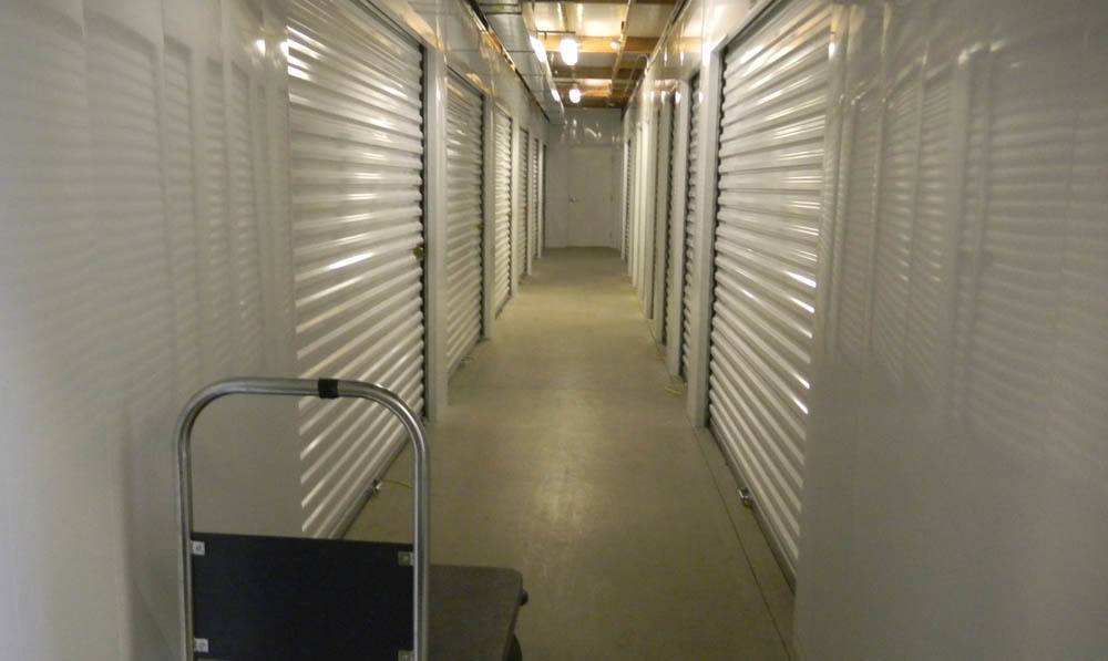 Interior access at Global Self Storage in Dolton, IL