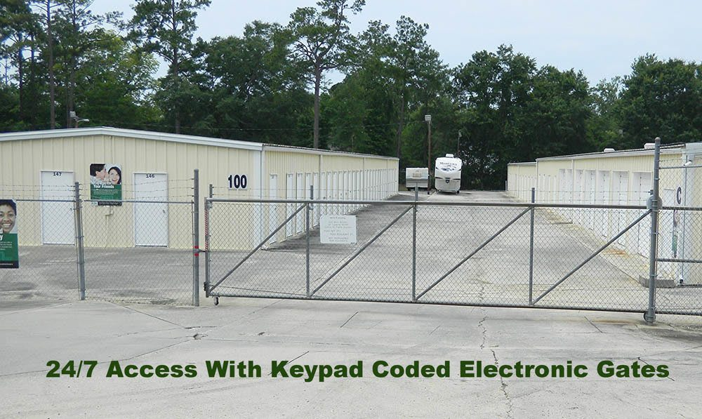 24 hour keypad access at Global Self Storage in Summerville, SC