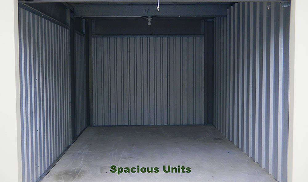 Spacious units Global Self Storage in Summerville, SC